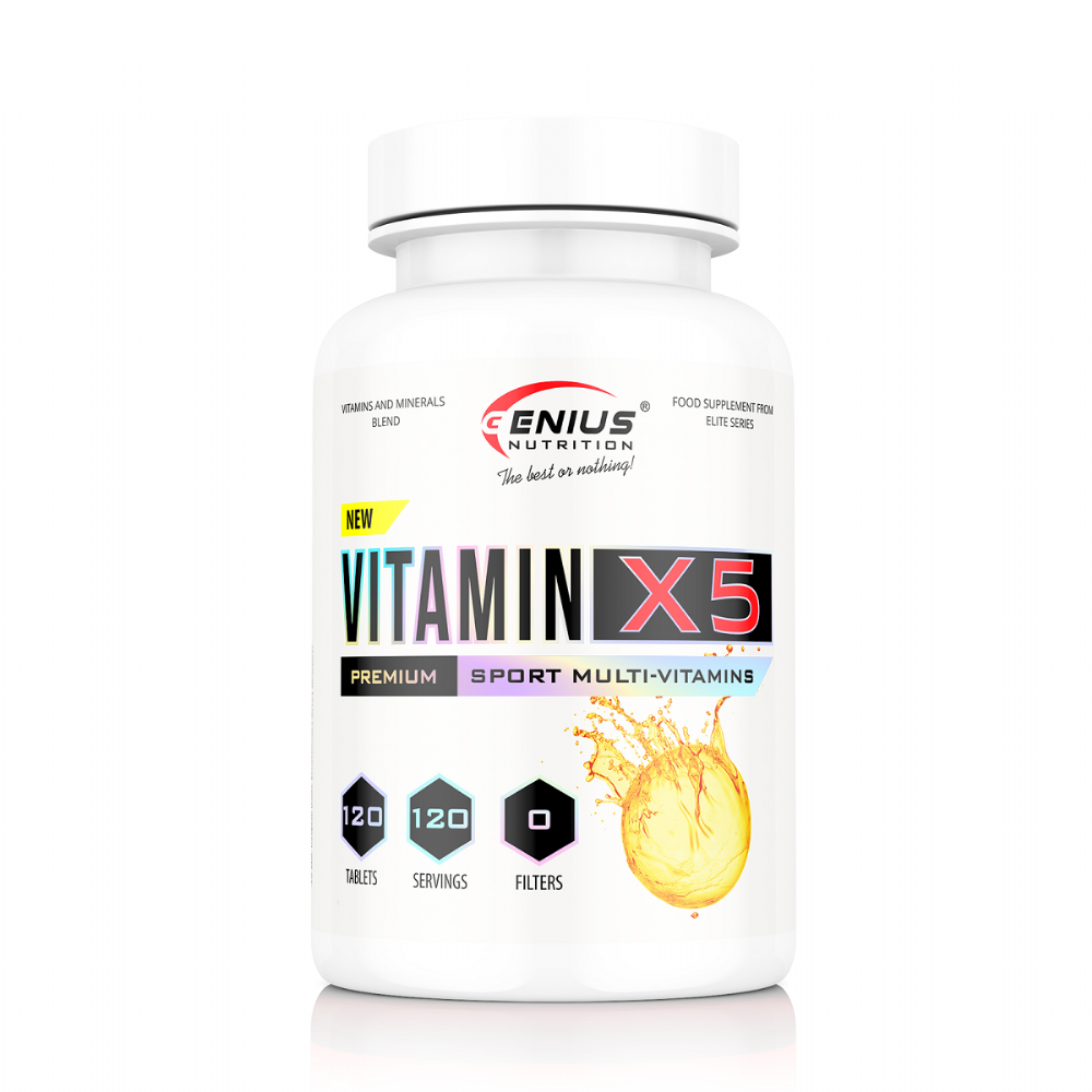 Genius Nutrition Vitamin-X5 (120tabs)